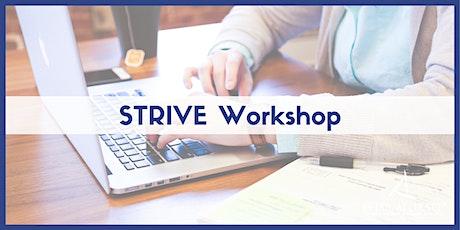 STRIVE: Customer Retention Strategies That Work tickets