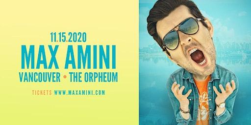 Max Amini Live in Vancouver - 2020 World Tour