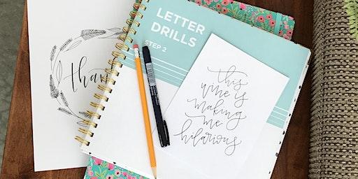 Sip & Scribble Hand Lettering Workshop