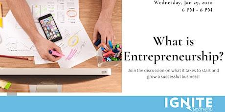 What is Entrepreneurship? tickets