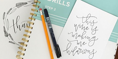 Sip & Scribble Hand Lettering Workshop tickets