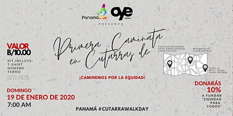 Primera Caminata en Cutarras de Panamá entradas