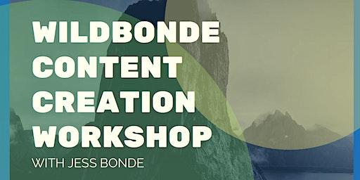 Wildbonde Content Creation I Ulverstone