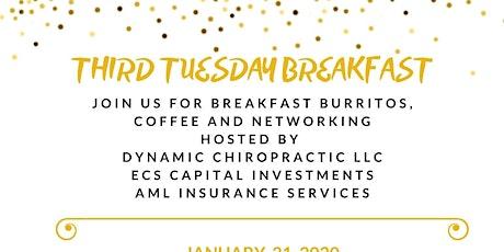 Third Tuesday Breakfast tickets