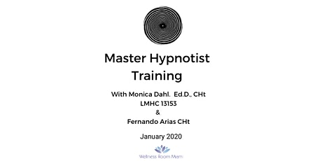 MASTER HYPNOTIST TRAINING tickets