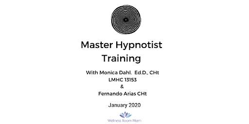MASTER HYPNOTIST TRAINING