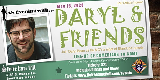 An Evening With... Daryl & friends - Stand Up Comedy Show