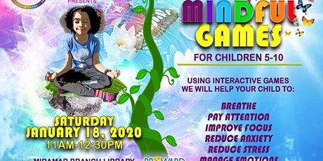 Mindful Games for Children 5-10 tickets