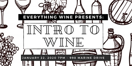 Everything Wine North Vancouver - Intro to Wine Tasting tickets