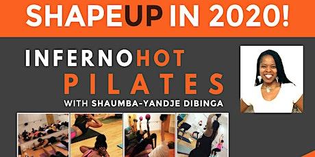 FREE Community Inferno Hot Pilates Classes with Shaumba-Yandje Dibinga!! tickets