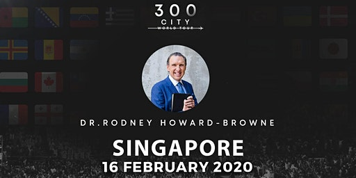 Rodney Howard-Browne in Singapore