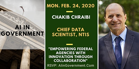 AI in Government - Chakib Chraibi, NTIS tickets