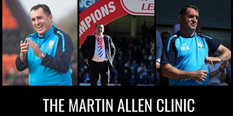 The Martin Allen Clinic In Watford - Football Icon Academy tickets