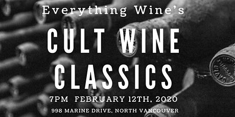 Everything Wine - Cult Classics Premium Wine Tasting tickets