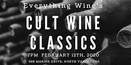 Everything Wine - Cult Classics Premium Wine Tasting tickets