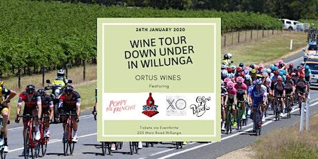 Wine Tour Down Under in Willunga tickets