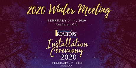 Women's Council of REALTORS®, California 2020 Winter Meeting & Installation tickets