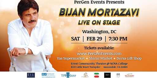 Bijan Mortazavi Live on Stage in Washington DC