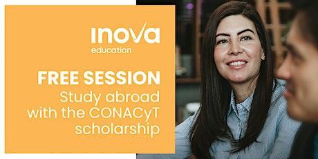 Estudia en el Reino Unido o Holanda con la beca de CONACyT - sesión informativa, también en línea tickets