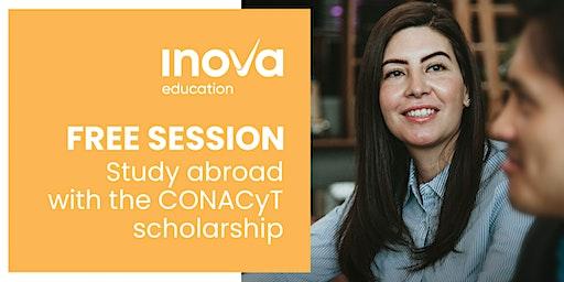 Estudia en el Reino Unido o Holanda con la beca de CONACyT - sesión informativa, también en línea