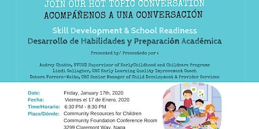 HOT TOPIC Conversation: Skill Development & School Readiness