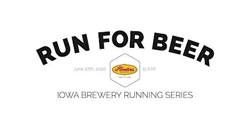 Beer Run - Fenders  Brewing | Part of the 2020 Iowa Brewery Running Series