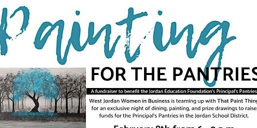 Painting for Pantries 2020 - DaVinci Sponsor