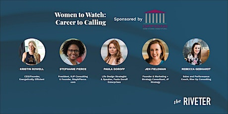 Women to Watch: Career to Calling | Sponsored by Oppidan tickets