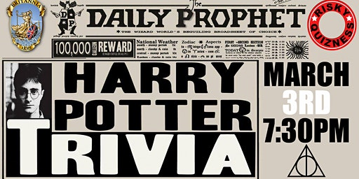 Harry Potter Trivia Event! - Sold Out!