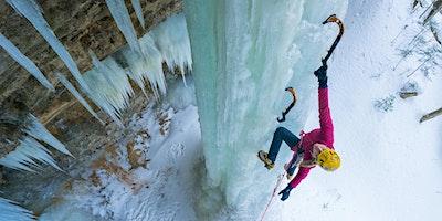 Escalade de glace – Montagne d'argent