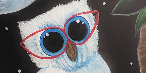 Whooo Me! Join us for this fun painting at Cool River Pizza!