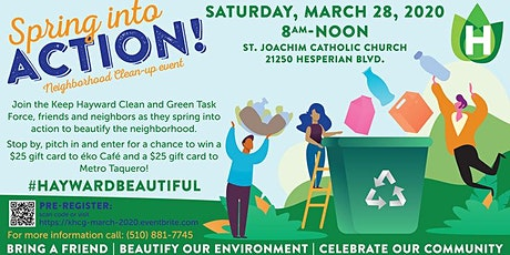 March 28, 2020 Neighborhood Cleanup Event  tickets