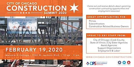 2020 Construction Summit tickets
