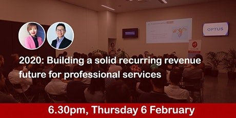 2020: Building a solid recurring revenue future for professional services tickets