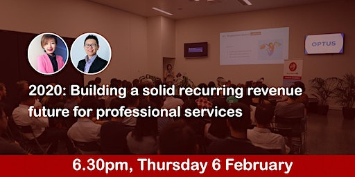 2020: Building a solid recurring revenue future for professional services