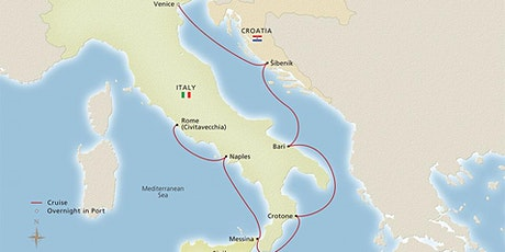Italian Sojourn with Anywhere But Here Travel tickets