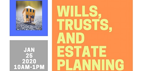 Wills, Trusts, & Estate Planning tickets