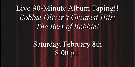 Bobbie Oliver Live Album Taping tickets