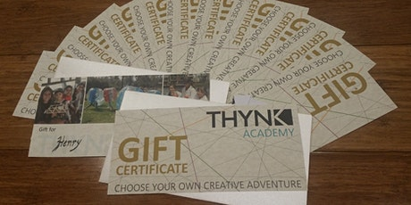 School Holiday Workshop Certificate tickets