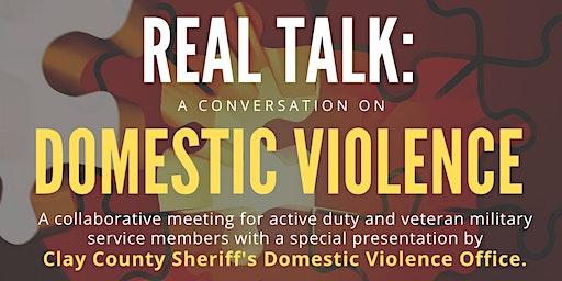 Real Talk: Domestic Violence