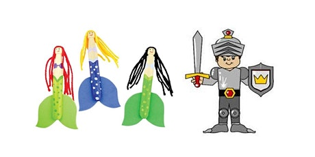 Mermaids and knights (Kandos Library, ages 3-5) tickets