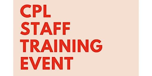 Camrose Public Library Staff Training Event