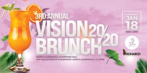 3rd  Annual Vision 2020 Brunch