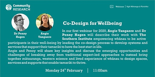 Co-Design for Well-being