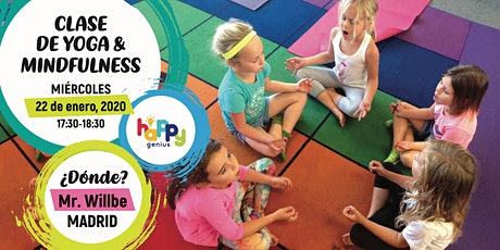 Clase de Yoga y Mindfulness para niños entradas