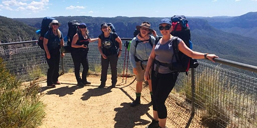 Women's Blue Mountains Overnight Hike // 24th-25th October