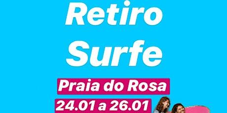 RETIRO Be.Surf | Edição VERÃO 2020 Praia do Rosa - SC em JANEIRO ingressos