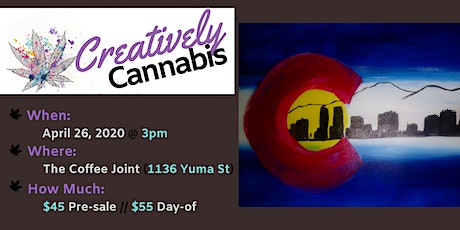 Creatively Cannabis: Tokes and Brush Strokes @ The Coffee Joint (6/28/20) tickets