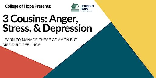 3 Cousins: Anger, Stress, & Depression