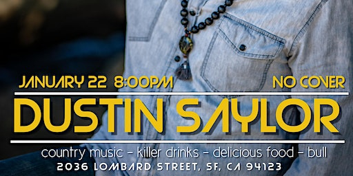 Live country music: Dustin Saylor